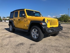 2018 Jeep Wrangler UNLIMITED SPORT S 4X4 Sport Utility For Sale in Madison, WI