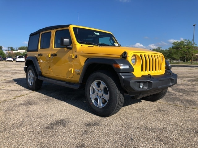 2018 Jeep Wrangler UNLIMITED SPORT S 4X4 For Sale In Madison, WI