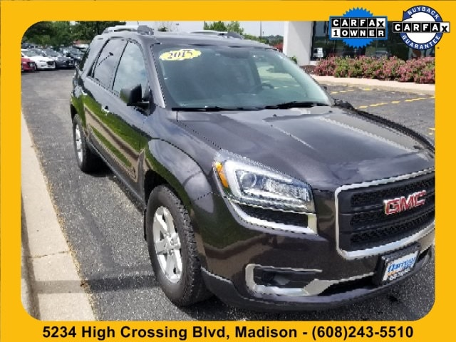 Used 2015 GMC Acadia SLE-2 SUV for Sale in Madison, WI