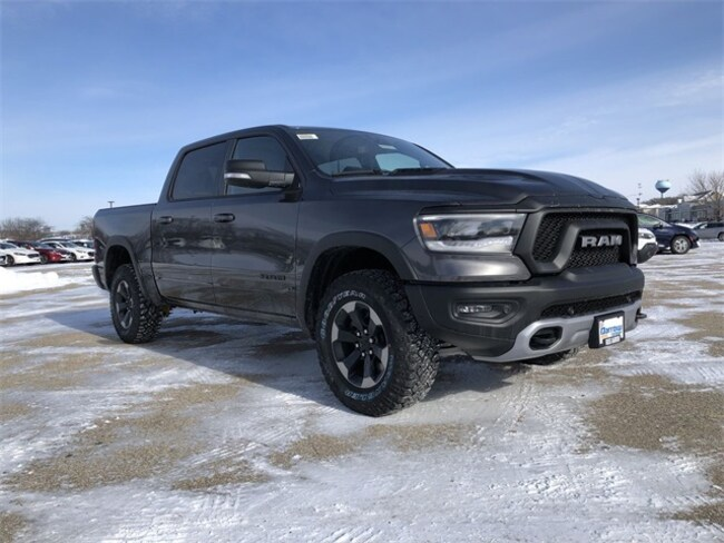 2019 Ram 1500 REBEL CREW CAB 4X4 5'7 BOX Crew Cab For Sale in Madison, WI