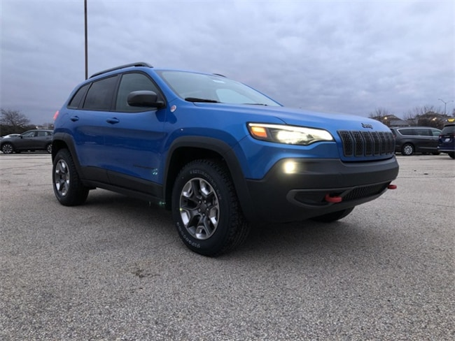 2019 Jeep Cherokee TRAILHAWK ELITE 4X4 Sport Utility For Sale in Madison, WI