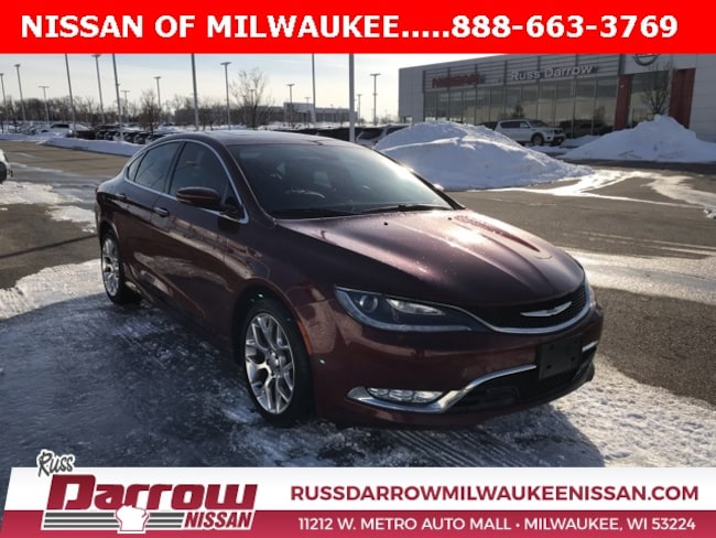 2015 Chrysler 200 C Sedan For Sale in Madison, WI