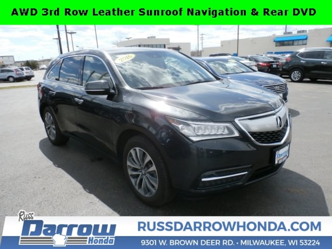 2016 Acura MDX MDX SH-AWD with SUV For Sale in West Bend, WI