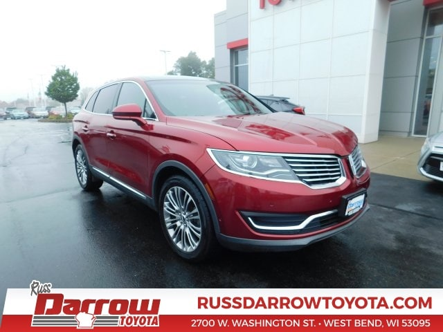 Used 2016 Lincoln MKX Reserve SUV for Sale in Madison, WI