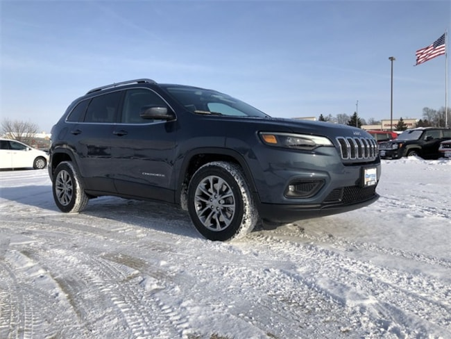 2019 Jeep Cherokee LATITUDE PLUS FWD Sport Utility For Sale in Madison, WI