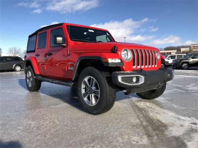 2018 Jeep Wrangler Unlimited Sahara SUV For Sale in Madison, WI