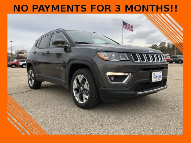 New 2018 Jeep Compass Limited 4x4 For Sale In Madison Wi Vin