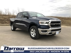 2019 Ram 1500 BIG HORN / LONE STAR CREW CAB 4X4 5'7 BOX Crew Cab Madison, WI