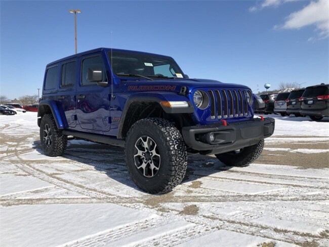 2019 Jeep Wrangler UNLIMITED RUBICON 4X4 Sport Utility For Sale in Madison, WI