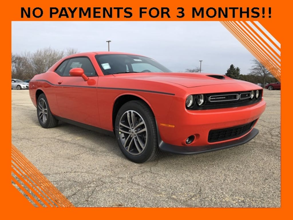 Do You Know Where Your Car Is Madisons >> New 2019 Dodge Challenger Gt Awd For Sale In Madison Wi Vin