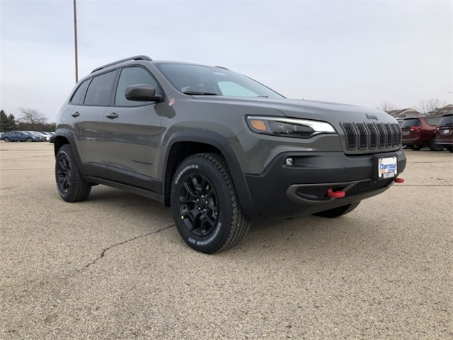 2019 Jeep Cherokee TRAILHAWK 4X4 Sport Utility For Sale in Madison, WI