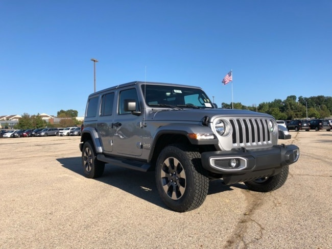 2018 Jeep Wrangler UNLIMITED SAHARA 4X4 Sport Utility For Sale in Madison, WI
