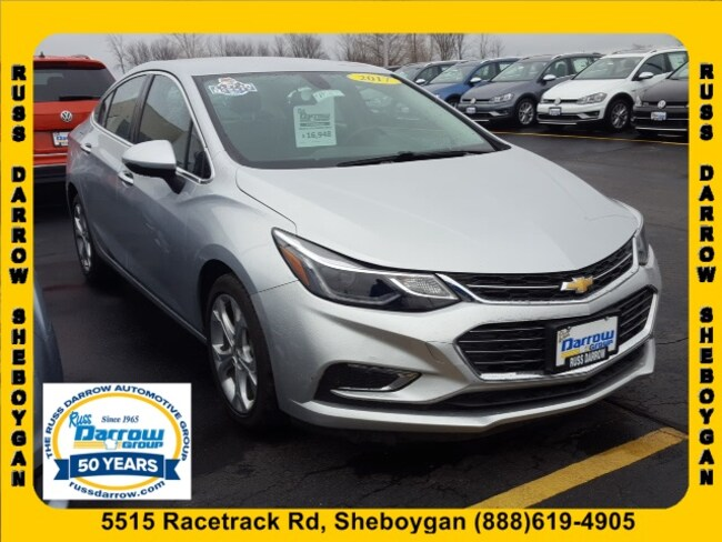 Used 2017 Chevrolet Cruze Premier Auto For Sale Madison Wi