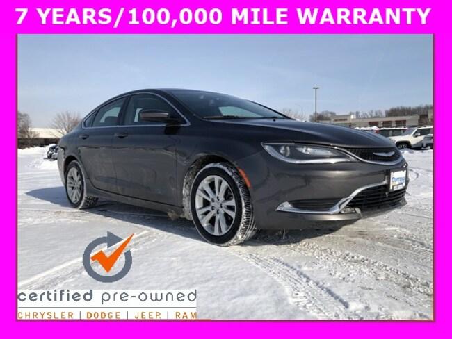 2015 Chrysler 200 Limited Sedan For Sale in Madison, WI