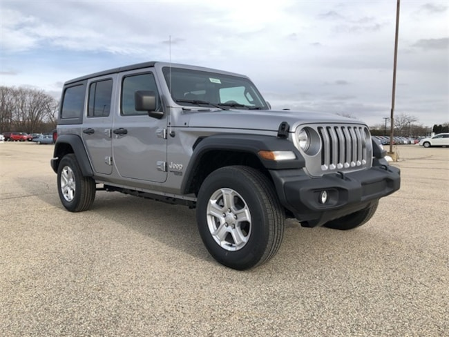 2018 Jeep Wrangler Unlimited Sport S SUV For Sale in Madison, WI