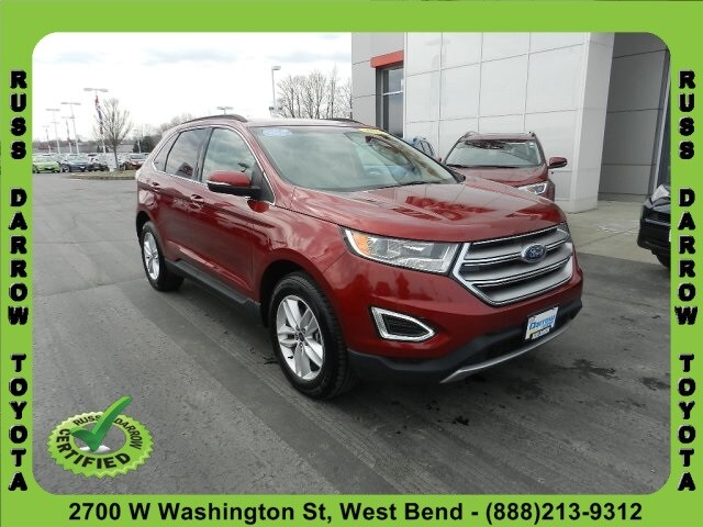 Used 2015 Ford Edge SEL SUV For Sale in West Bend, WI