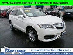 Certified Pre-Owned 2016 Acura RDX RDX AWD with Technology SUV For Sale in West Bend, WI