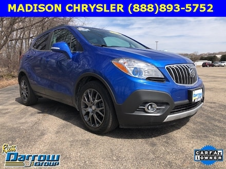 Used 2016 Buick Encore Sport Touring SUV For Sale in West Bend, WI