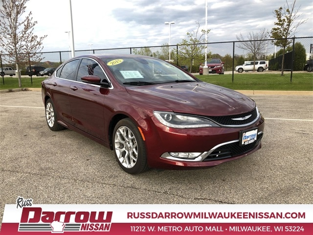 2015 Chrysler 200 For Sale >> Used 2015 Chrysler 200 C For Sale In West Bend Wi Vin
