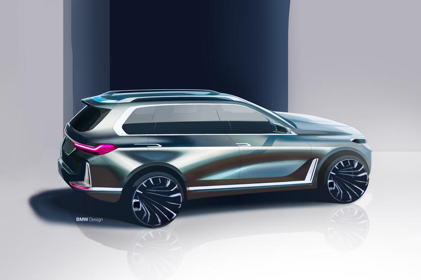 Bmw Of Catonsville The Bmw Concept X7 Iperformance Debuts