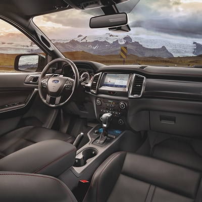 2020 Ford Ranger Console