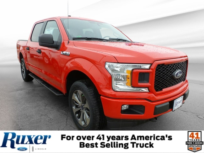 Jasper, IN 2019 Ford F-150 STX XL 4WD SuperCrew 5.5 Box New