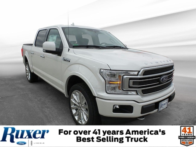 Jasper, IN 2019 Ford F-150 Limited Limited 4WD SuperCrew 5.5 Box New