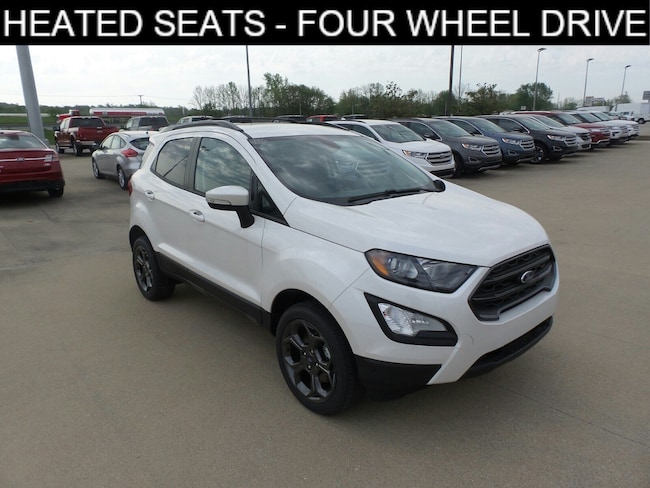 Jasper, IN 2018 Ford EcoSport SES SES 4WD New