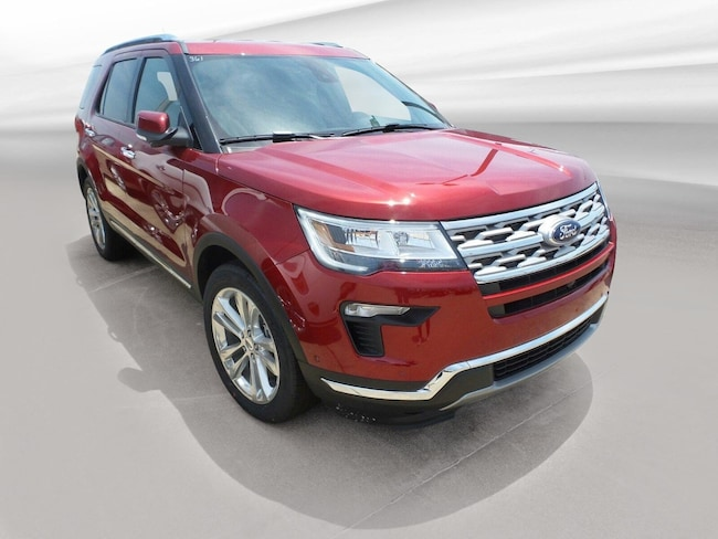 Jasper, IN 2018 Ford Explorer Limited Limited FWD New