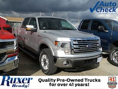 2014 Ford F-150 Lariat 4WD SuperCrew 145 Lariat in Jasper, IN