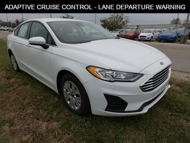Jasper, IN 2019 Ford Fusion S S FWD New