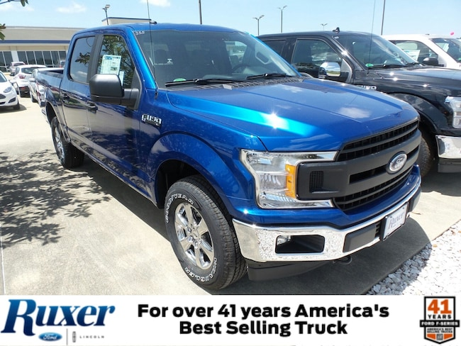 Jasper, IN 2018 Ford F-150 XL XL 4WD SuperCrew 5.5 Box New