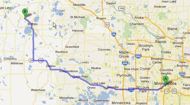 Minneapolis Map Google Sham Store