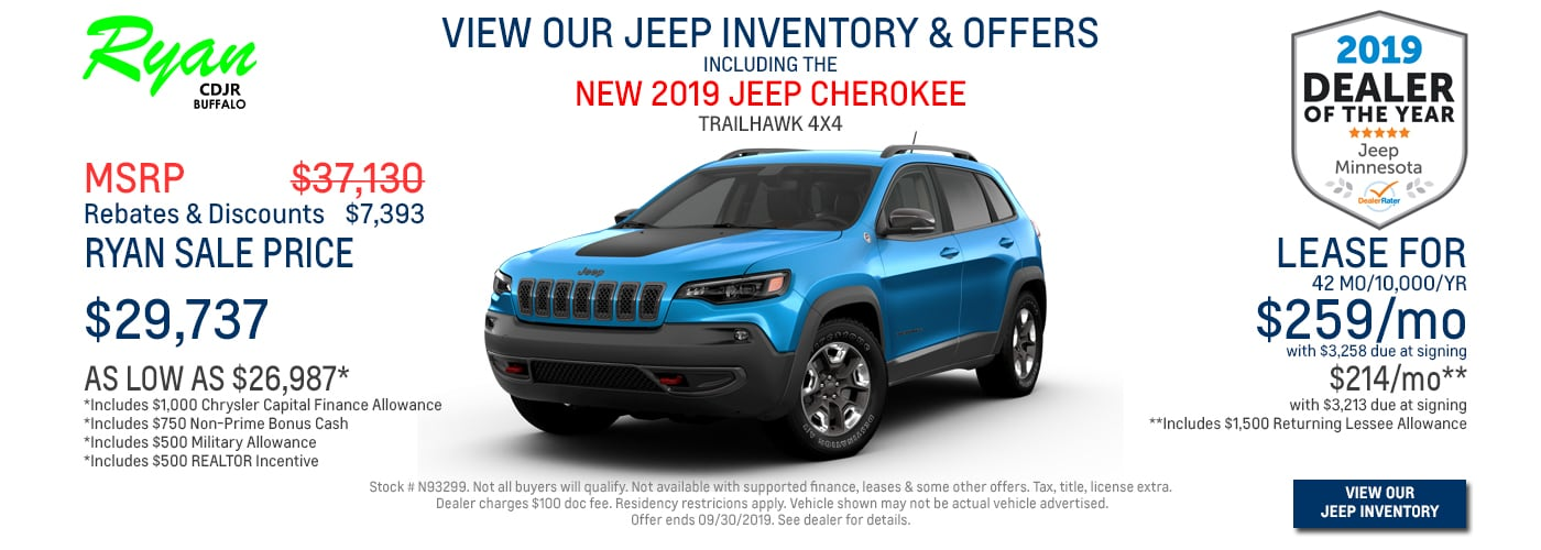 Jeep Dealers Mn >> Ryan Chrysler Dodge Jeep Ram Buffalo Mn New 2018 2019 Used
