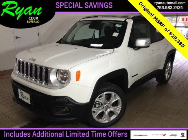 2018 Jeep Renegade LIMITED 4X4 Sport Utility for sale in Buffalo MN