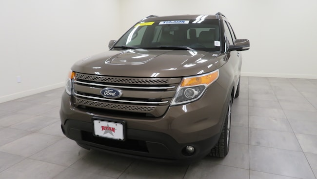 Used 2015 Ford Explorer Limited SUV For Sale Sealy, TX