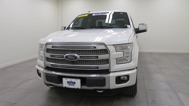 Used 2016 Ford F-150 Platinum Truck For Sale Sealy, TX