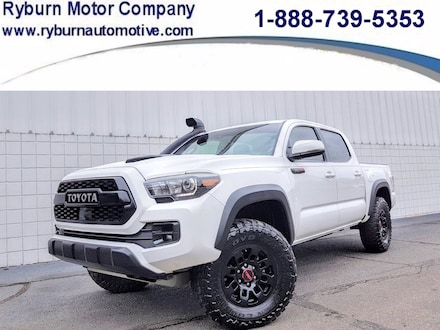 2019 Toyota Tacoma 4WD TRD Pro TRD Pro Double Cab 5 Bed V6 AT