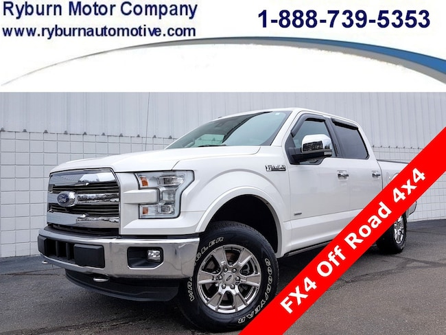 2016 Ford F-150 Lariat FX4 Off/Road 4x4 Truck SuperCrew Cab