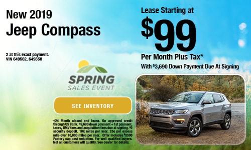 New 2019 Jeep Compass