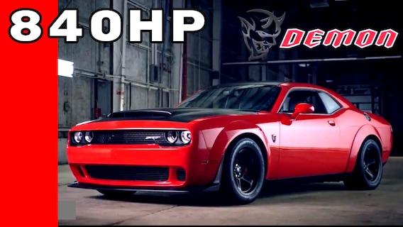 2018 Dodge Challenger SRT Demon | Rydell Chrysler Dodge