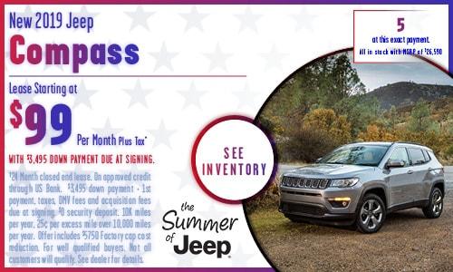 Leasing Specials | Rydell Chrysler Dodge Jeep RAM | San