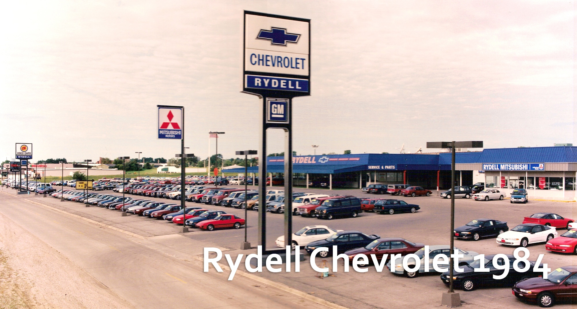 In 1984, Jim Rydell Bought The Dealership Previously Known As Schukei  Chevrolet. Rydellu0027s Sold 35 New Vehicles The First Weekend They Were Open  By Having An ...