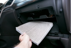 Save $5 off a new cabin air filter!
