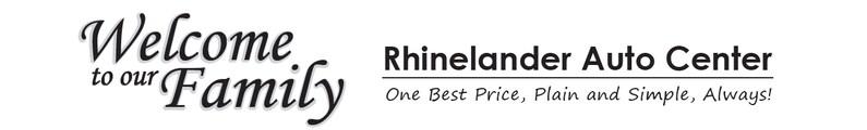 Rhinelander Auto Center