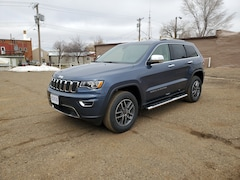 New 2019 Jeep Grand Cherokee LIMITED 4X4 Sport Utility 1C4RJFBGXKC694540 in Hettinger, ND