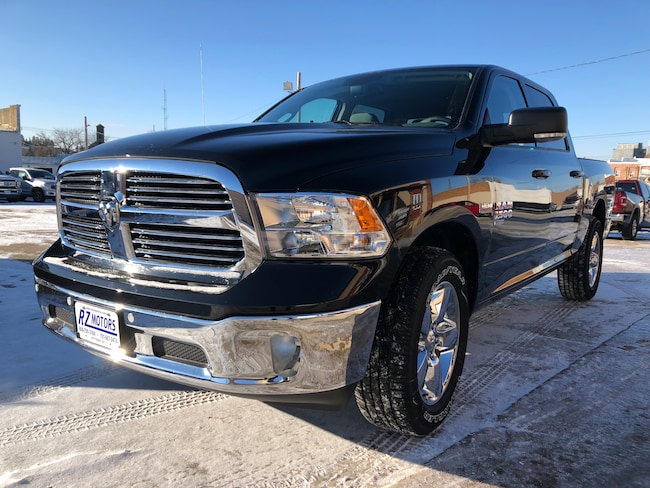 New  2019 Ram 1500 CLASSIC BIG HORN CREW CAB 4X4 5'7 BOX Crew Cab in Hettinger, ND