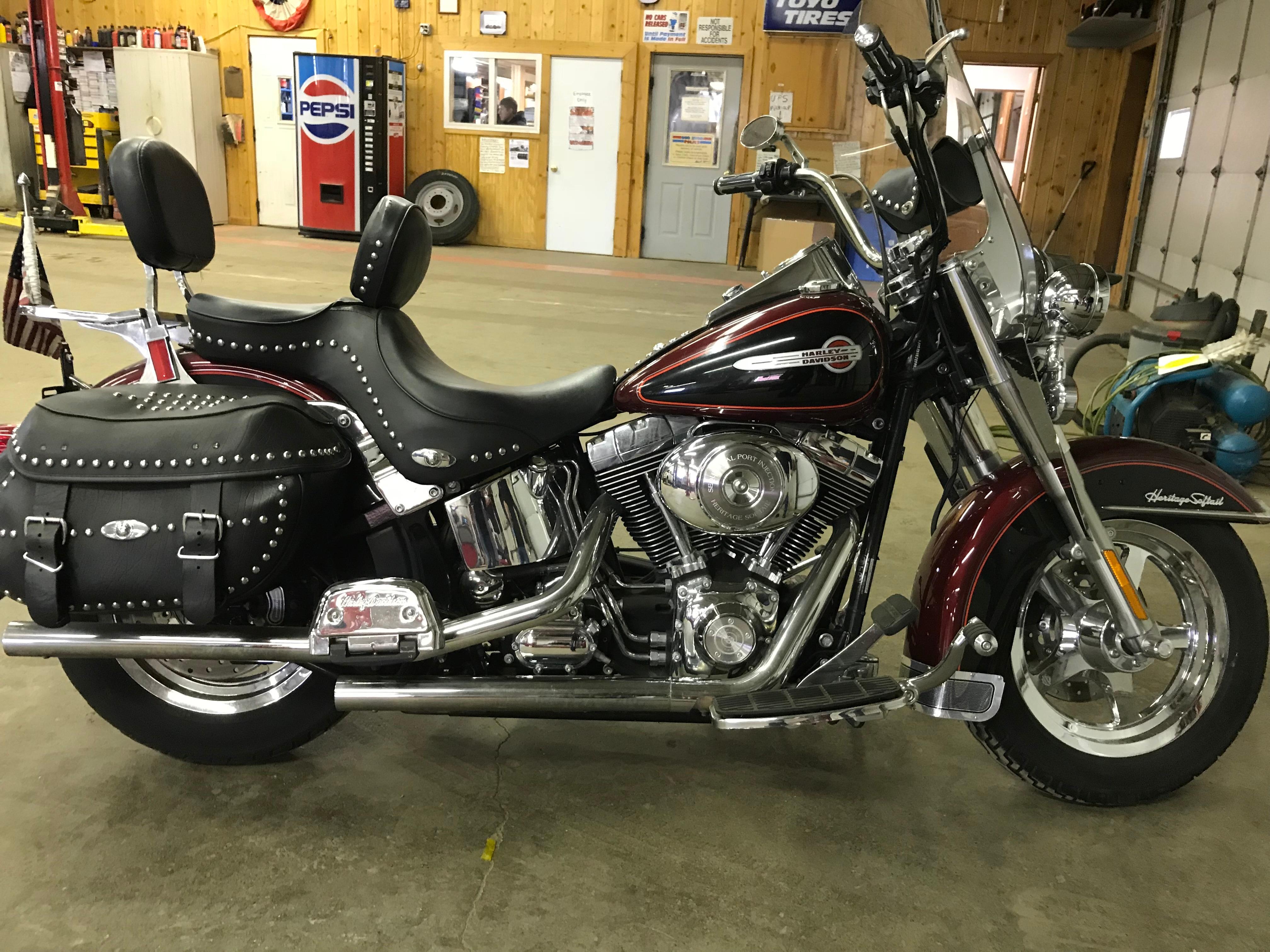 2002 Harley-Dav Flstci HEAVY