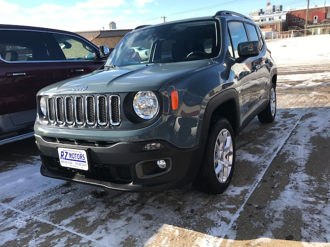 New  2018 Jeep Renegade LATITUDE 4X4 Sport Utility in Hettinger, ND
