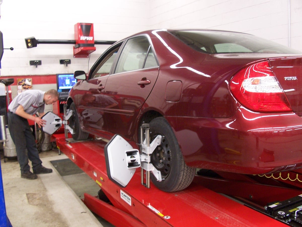 Dealers Says Alignment Impossible With My Wheels Tires